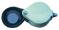 10x magnification loupe